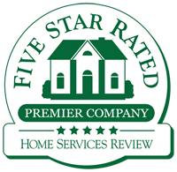 Five Star Rated Home Services Award