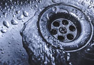 drain in sink